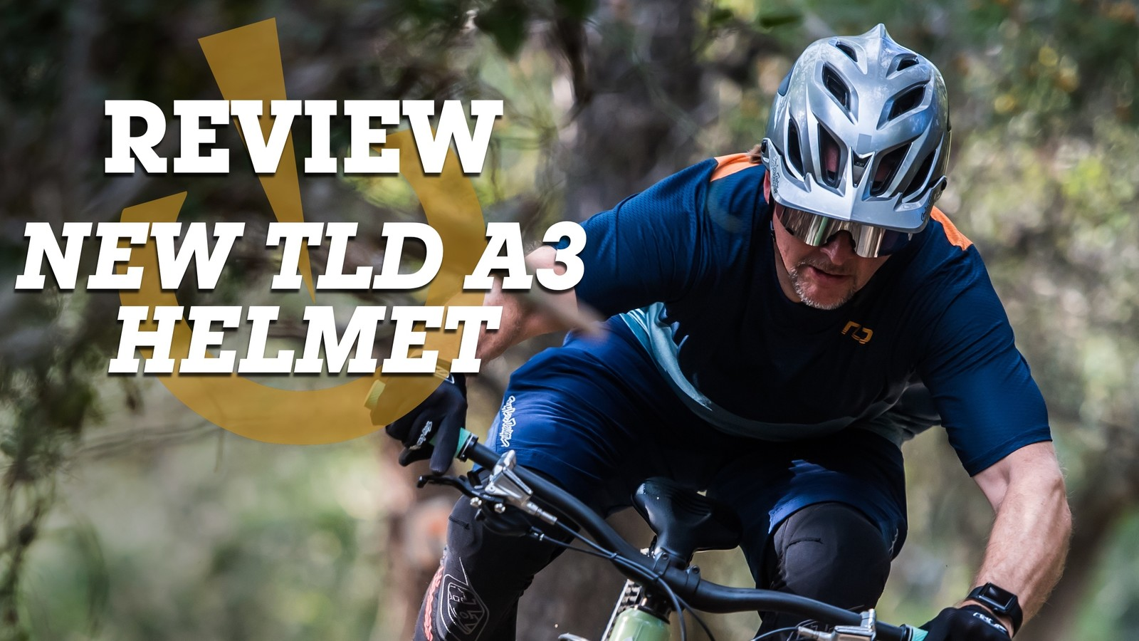 All-New Troy Lee Designs A3 MTB Trail Helmet Review