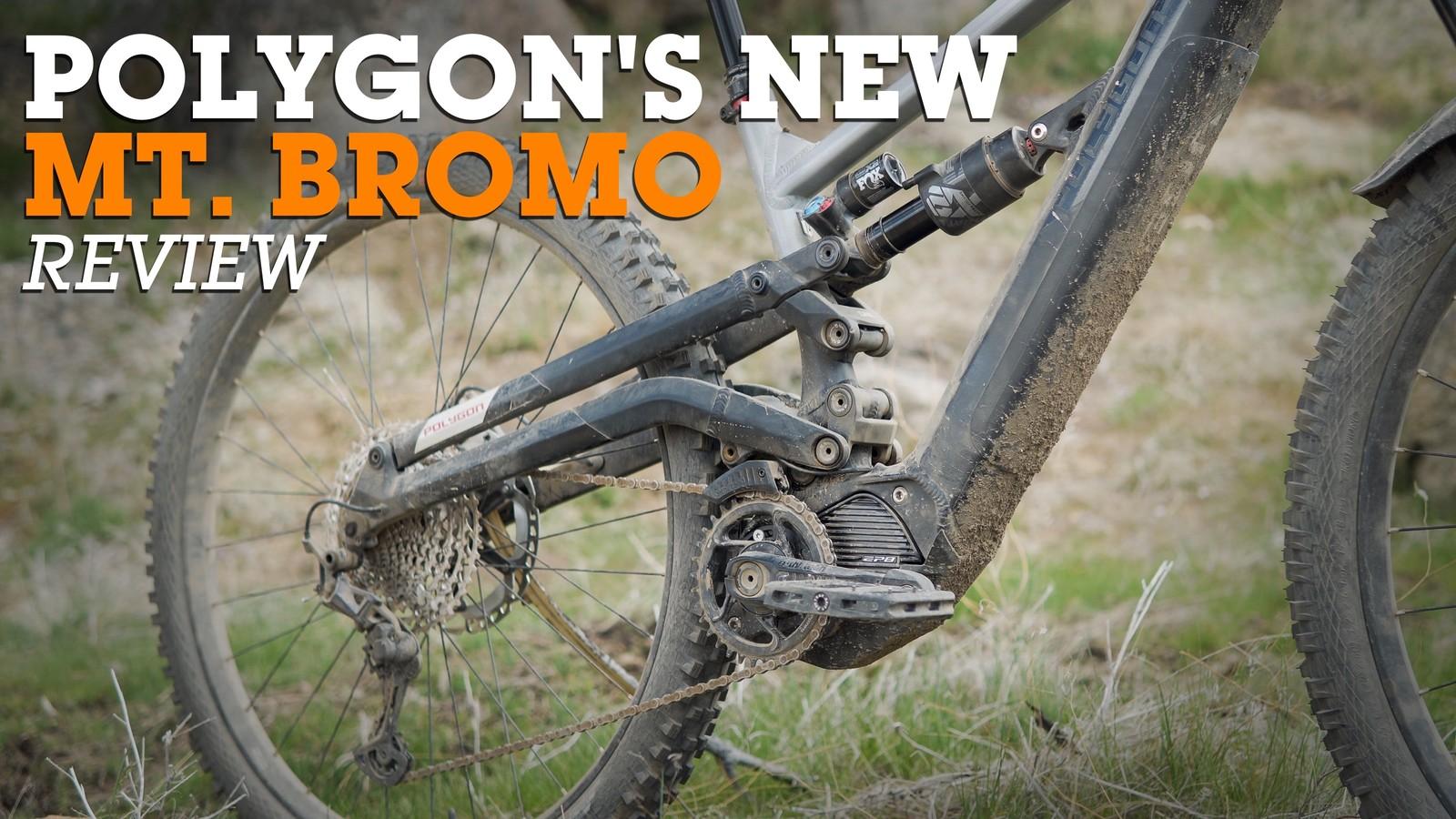 Enter the Plow King - Polygon's Crazy Six-Bar Mt Bromo eMTB Review