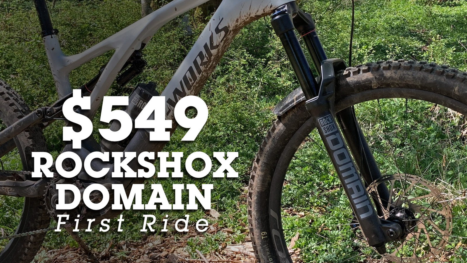 First Ride - RockShox All-New Domain