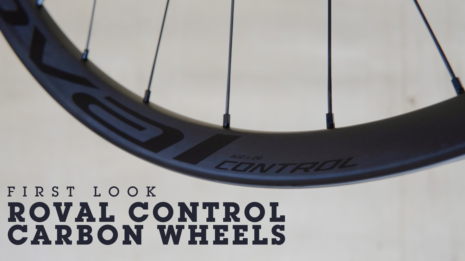 $1,350, 1450g Roval Control Carbon Wheelset First Look