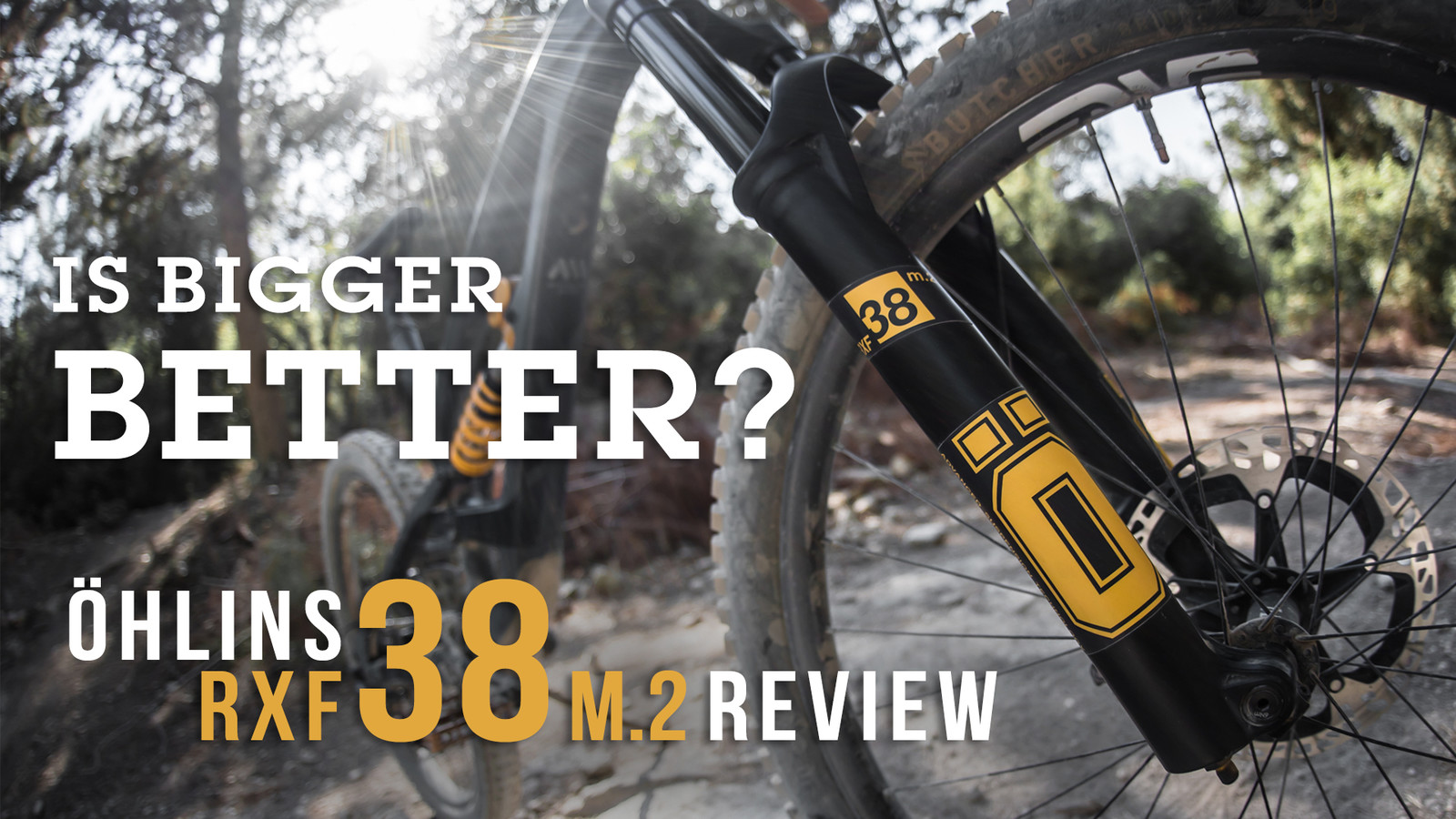 Is Bigger Better? All-New Öhlins RXF 38 m.2 Reviewed
