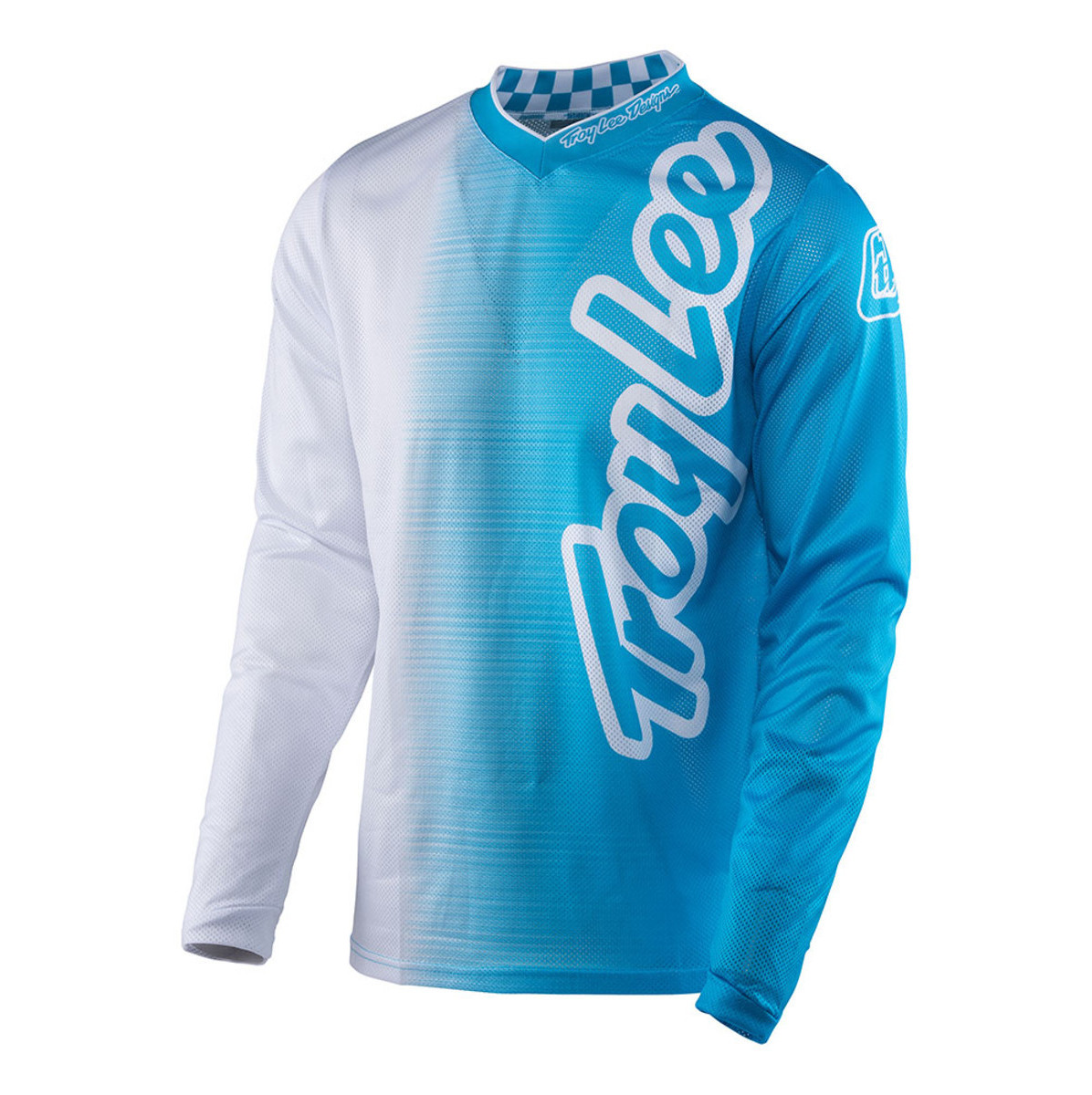 TLD GP Air Youth Jersey - 50:50 White