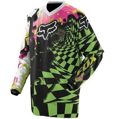 Fox Racing HC Graphic Jersey '11  je267b11_green.jpg