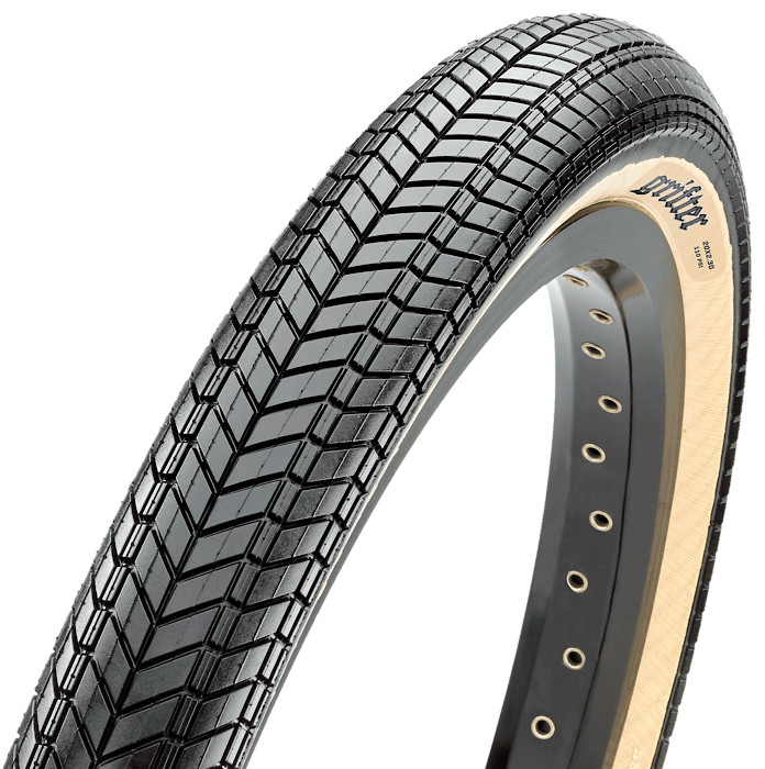 NEW Maxxis Grifter Tire 20 x 2.40 Wire Bead 60tpi Dual Compound SilkShield Black