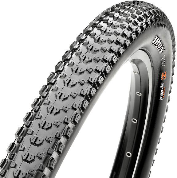 27.5 x 2.20 Folding Dual Compound EXO Tubeless Ready Skinwall Maxxis Ikon Tire