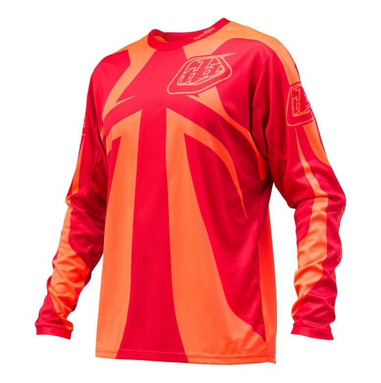 TLD Sprint Jersey - Reflex Orange