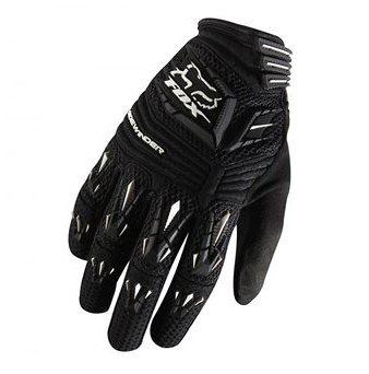 Blk//Blk Fox Head Cycling Sidewinder Glove Size XL