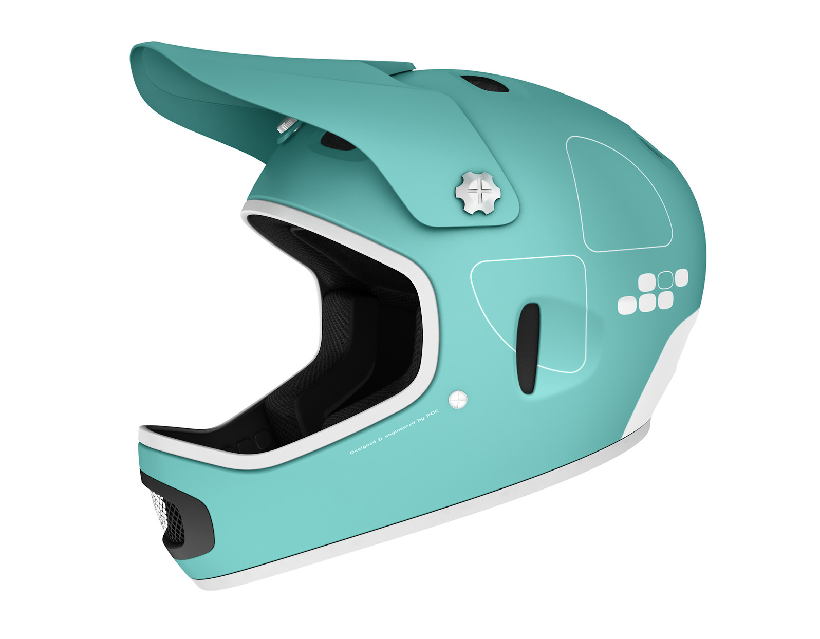 POC Cortex Flow Full Face Helmet - Beryl Green
