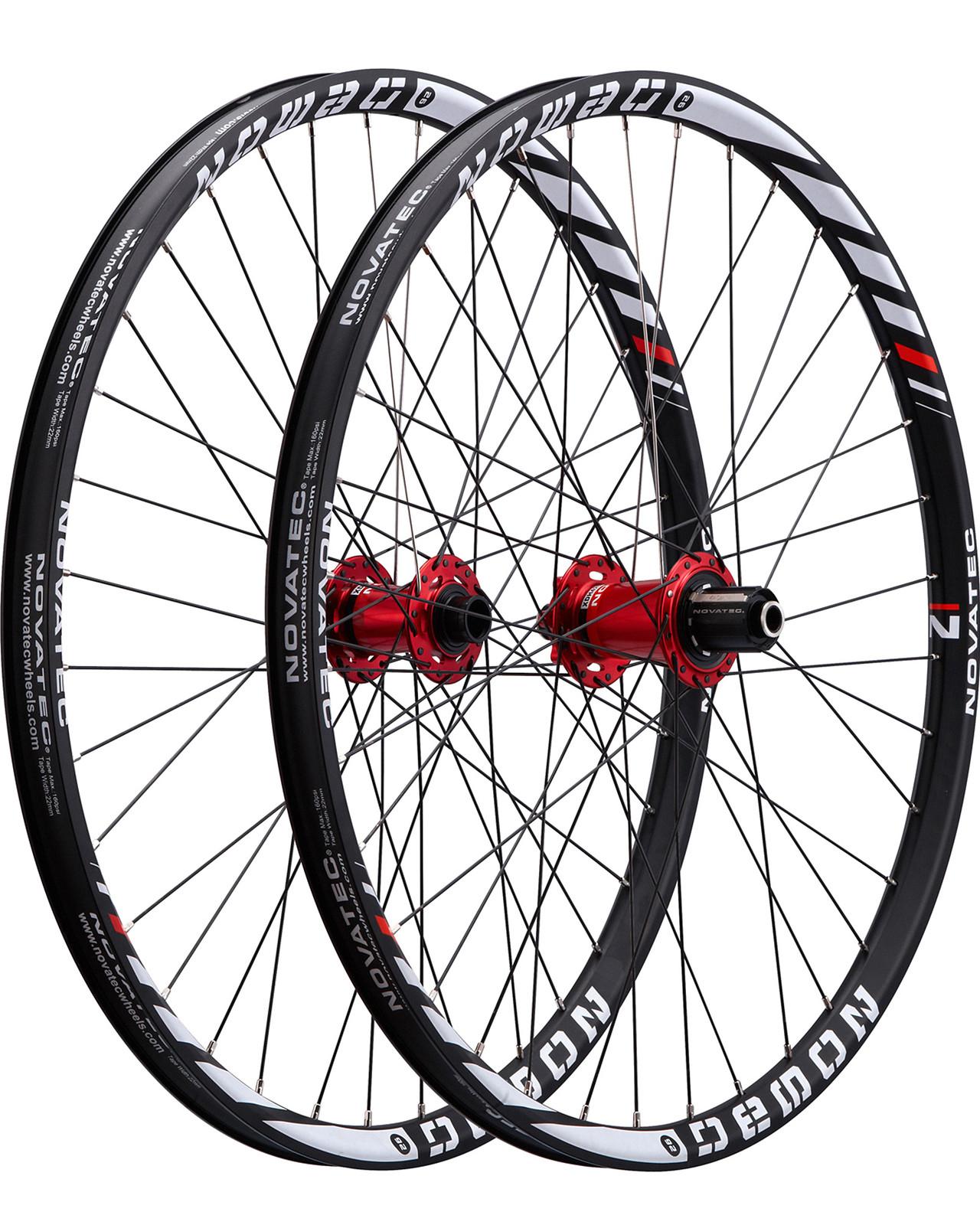 Novatec Demon Complete Wheelset demon