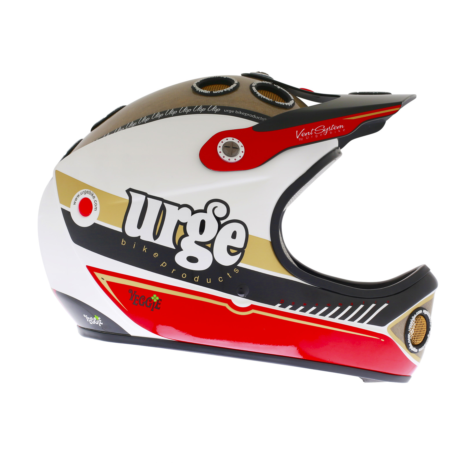 Urge 2013 Down O Matic Veggie Full Face Helmet colorama copie