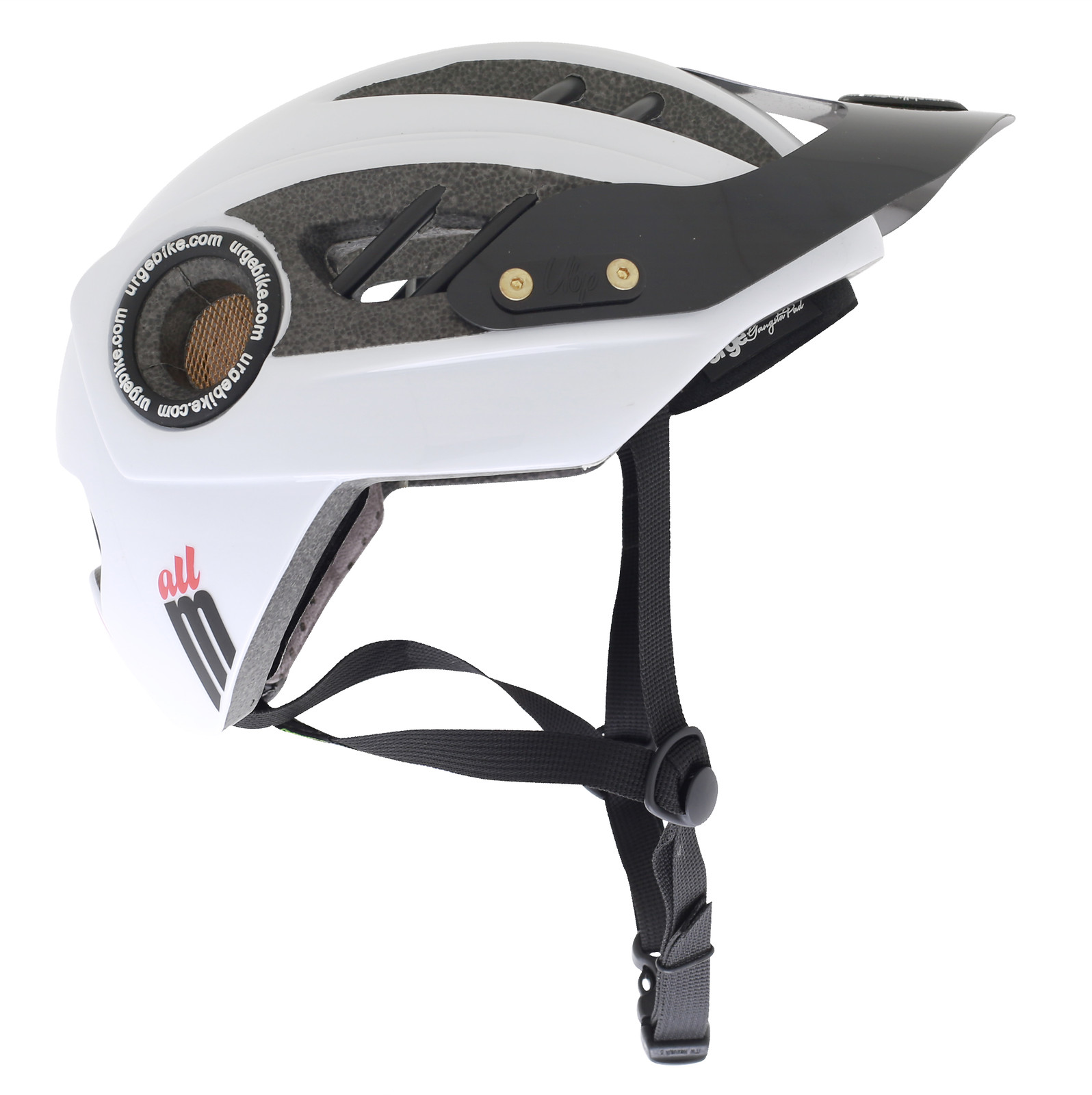 Urge 2013 All M Open Face Helmet blanc copie
