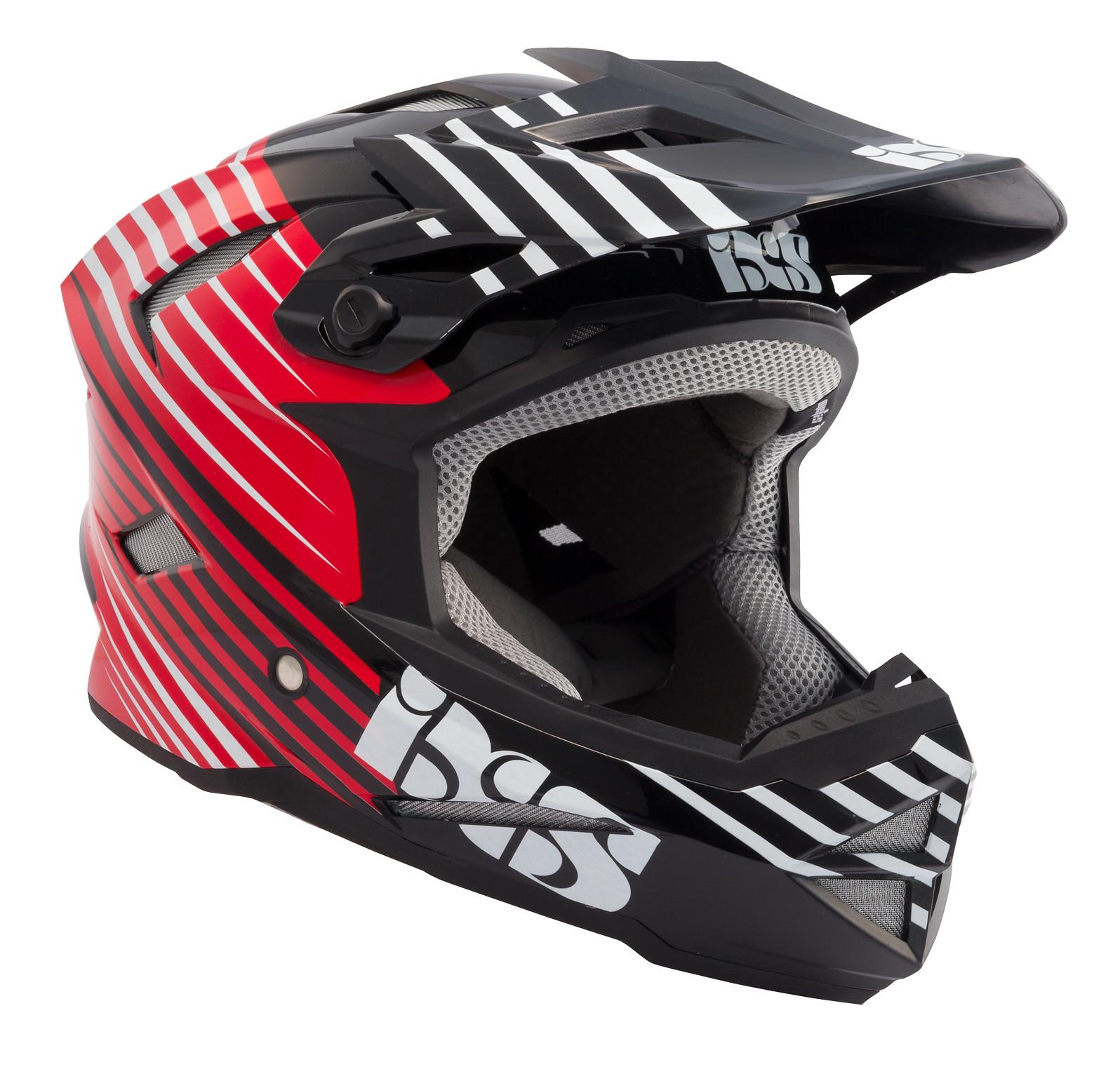 iXS Metis-Slide Full Face Helmet metis slide red 1