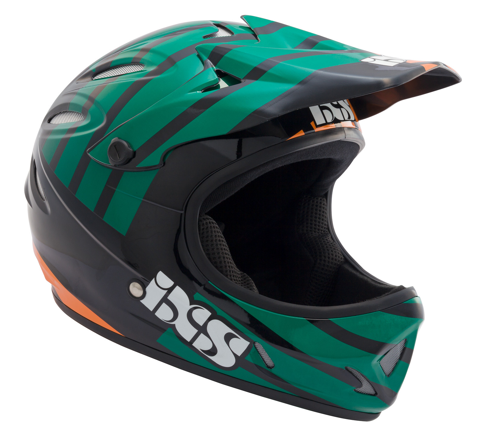 iXS Phobos-Smoke Full Face Helmet phobos smoke orange 1