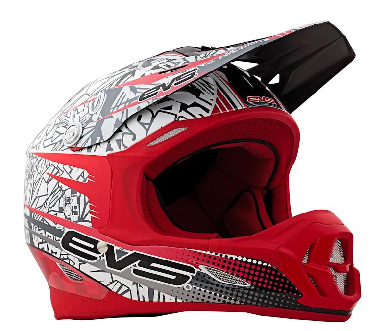 EVS Sports 2013 T7 Helmet  T7-Martini Red
