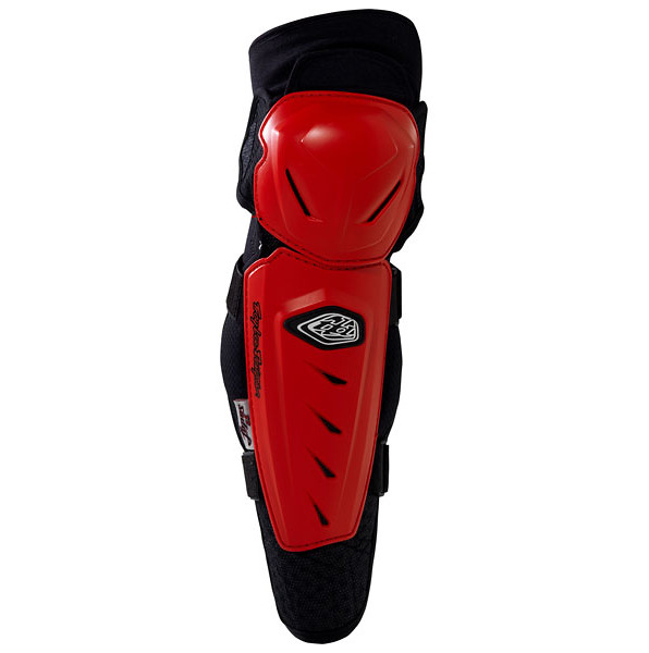 Troy Lee Designs Lopes Knee Guards  13TLD_LOPES_GUARDS_RED_RIGHT
