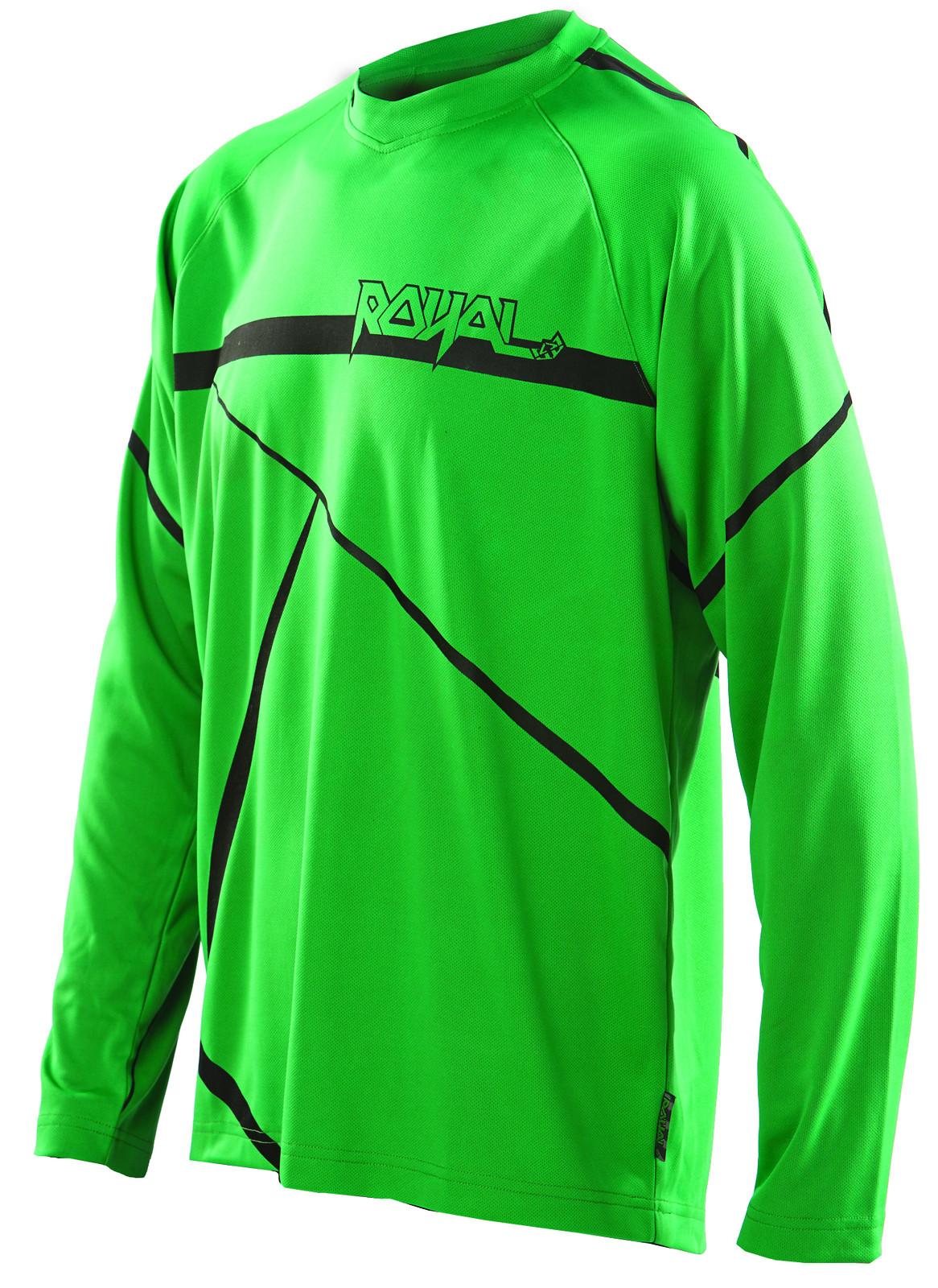 slice jersey green black f