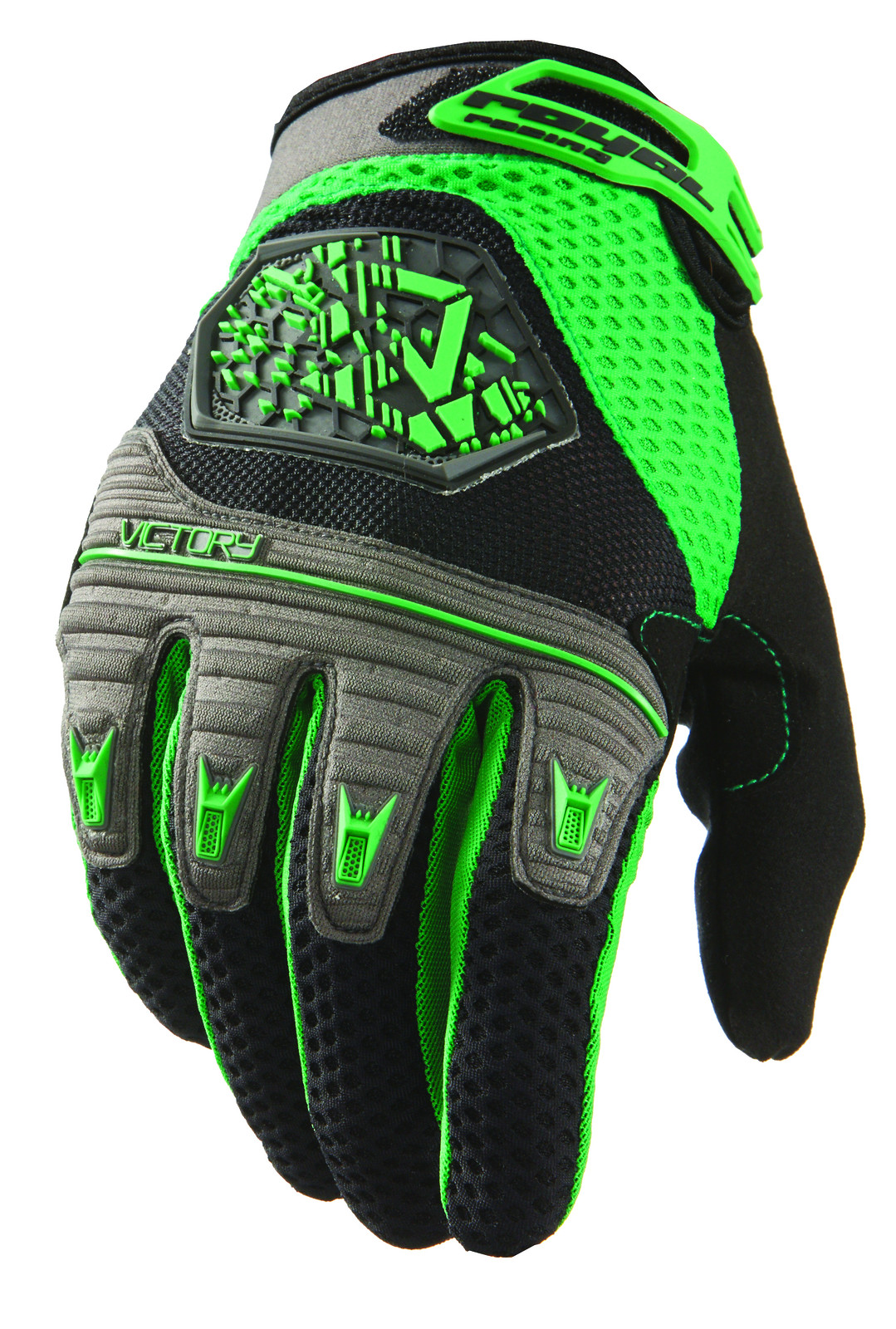 victory black green