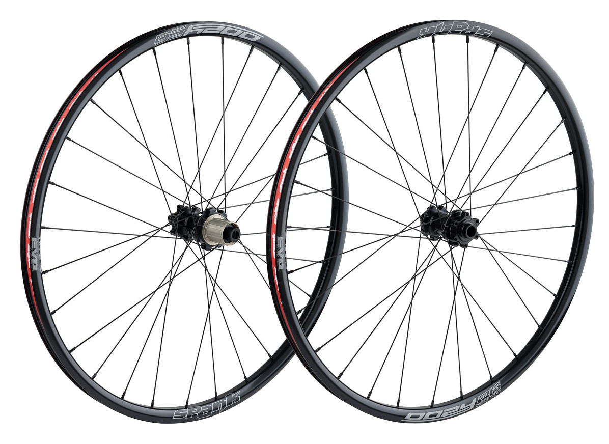 Oozy Wheelset (complete) black
