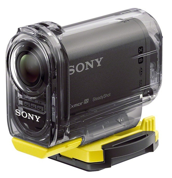 Sony HDR-AS15 in case