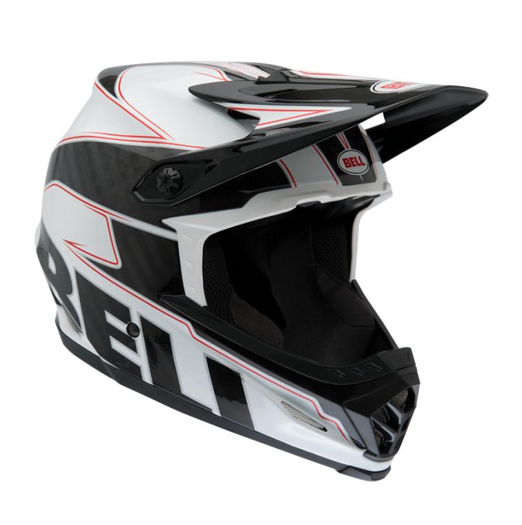 2013 Full-9 (White Black Carbon Emblem)