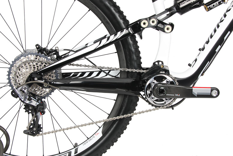 2013 Specialized S-Works Enduro 29 SE FSR rear end