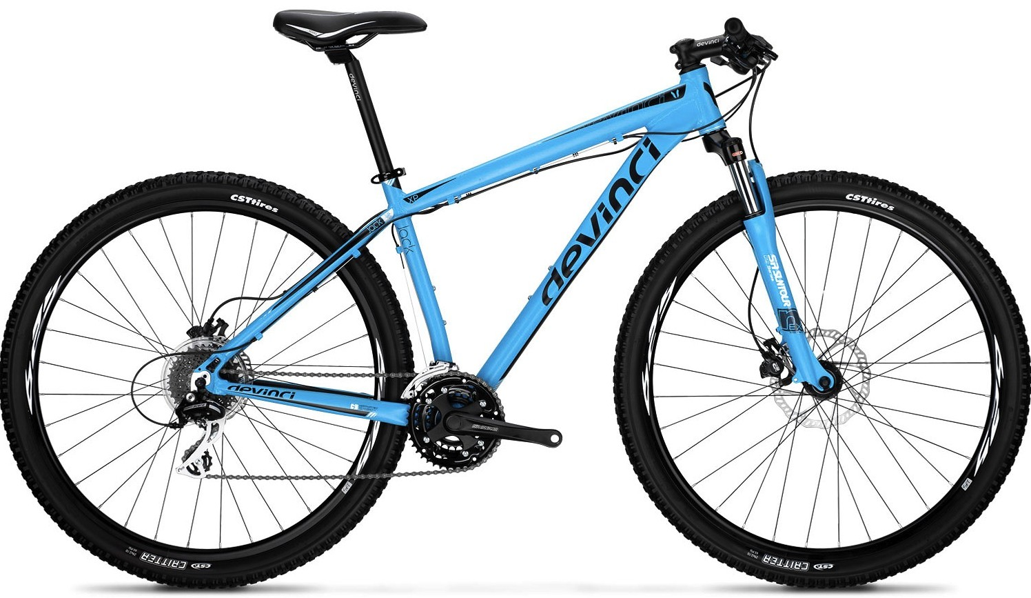 2013 Devinci Jack XP (blue)