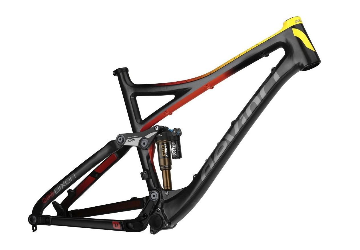 Devinci Dixon Carbon Frame - Carbon/Yellow