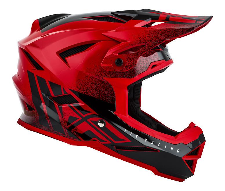 2019 Fly Default Helmet (Red/Black)