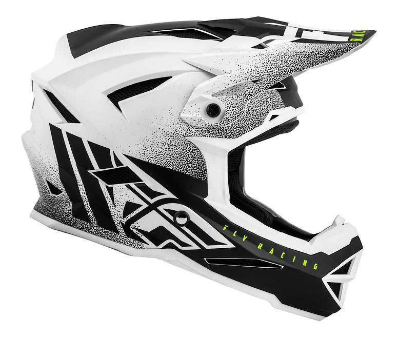 2019 Fly Default Helmet (Matte White/ Black)
