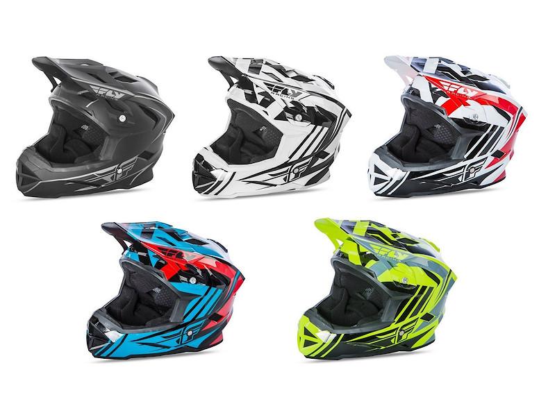 Fly Default helmet 2018 colors