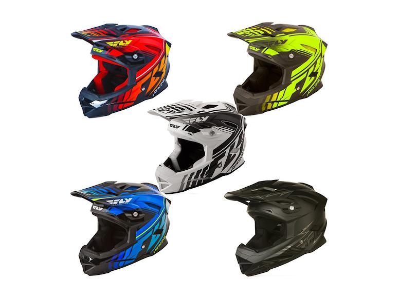 Fly Default helmet 2015 colors