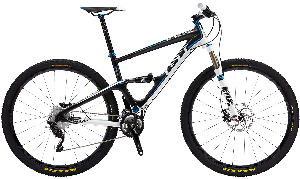 2013 GT Zaskar Carbon 100 9R Pro Bike bike - GT ZASKAR CARBON 100 9R PRO