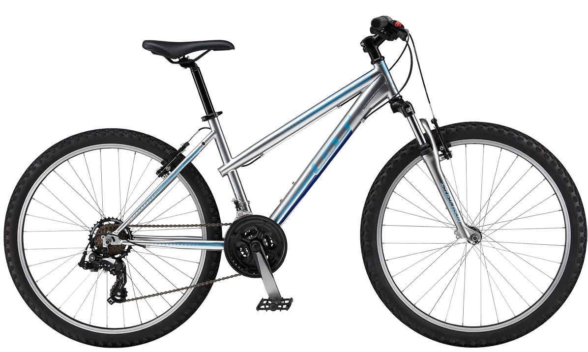 bike - GT Woman's PALOMAR - GTW (silver)