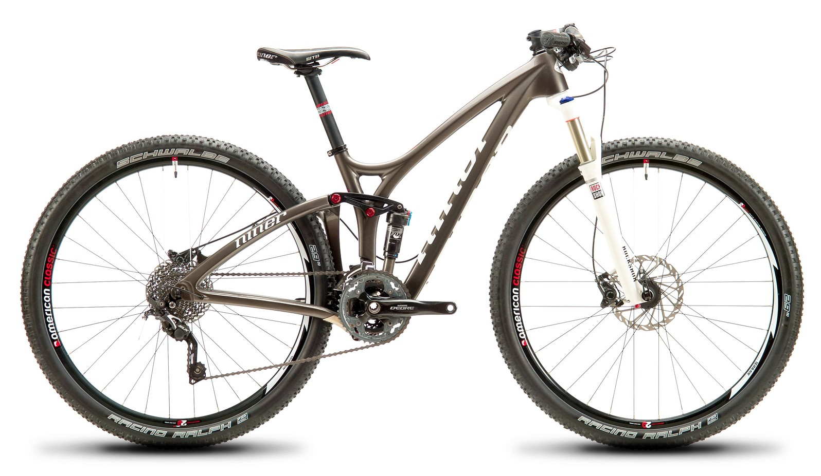 2013 Niner Jet 9 Carbon with SLX:Deore