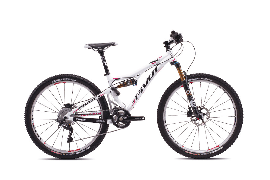bike - Pivot MACH 4 (white with Shimano XT:XTR Pro)