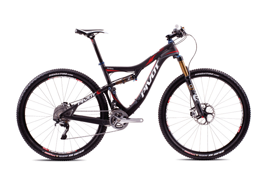 2013 Pivot Mach 429 Carbon with XTR  Pivot Mach Carbon 429 with Shimano XTR (Carbon:Red)