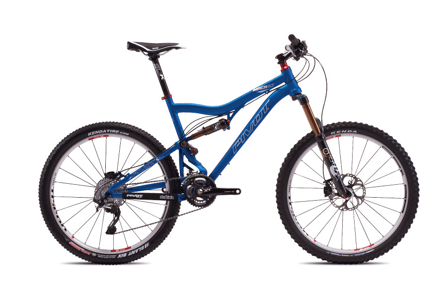 2013 Pivot Mach 5.7 with XT/SLX  bike - Pivot Mach 5.7 with XT:XTR Pro (Anodized Cobalt Blue)
