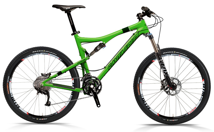 bike - Santa Cruz Blur XC Carbon with SPX xc Build (green)