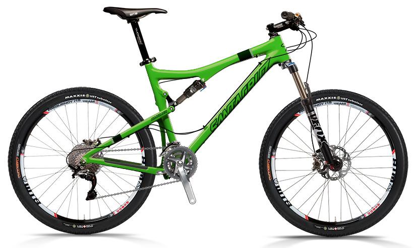 bike - Santa Cruz Blur XC Carbon with XTR xc 2x10 Build (green)