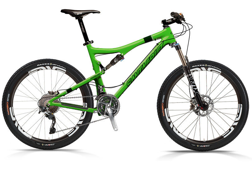 Blur XC Carbon with XTR xc ENVE Build (green)