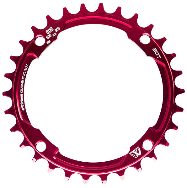 e*thirteen Guidering M Chainring - red