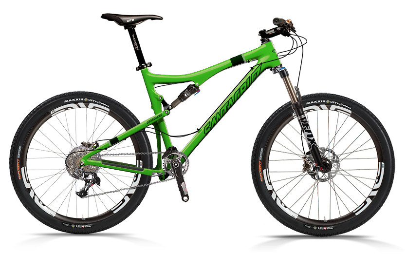 bike - Santa Cruz Blur XC Carbon with XX1 xc ENVE Build (green)