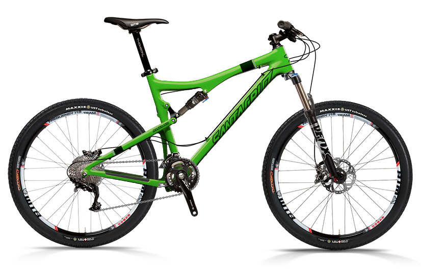 bike - Santa Cruz Blur XC Carbon with SPX xc 2x10 Build (green)