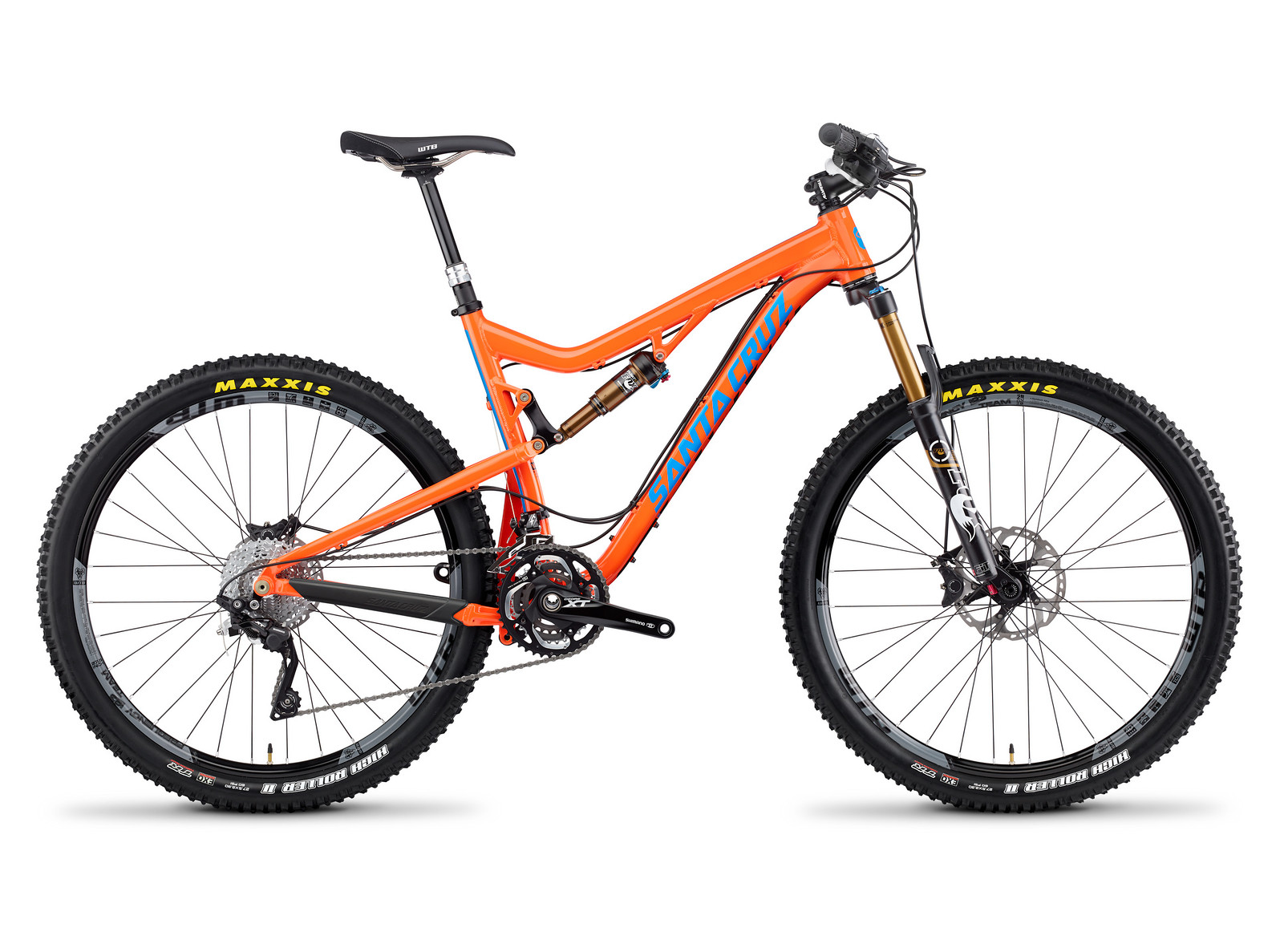 2014 Santa Cruz Solo X0-1 AM 27.5 Bike Solo_profile_Aluminum_ORG
