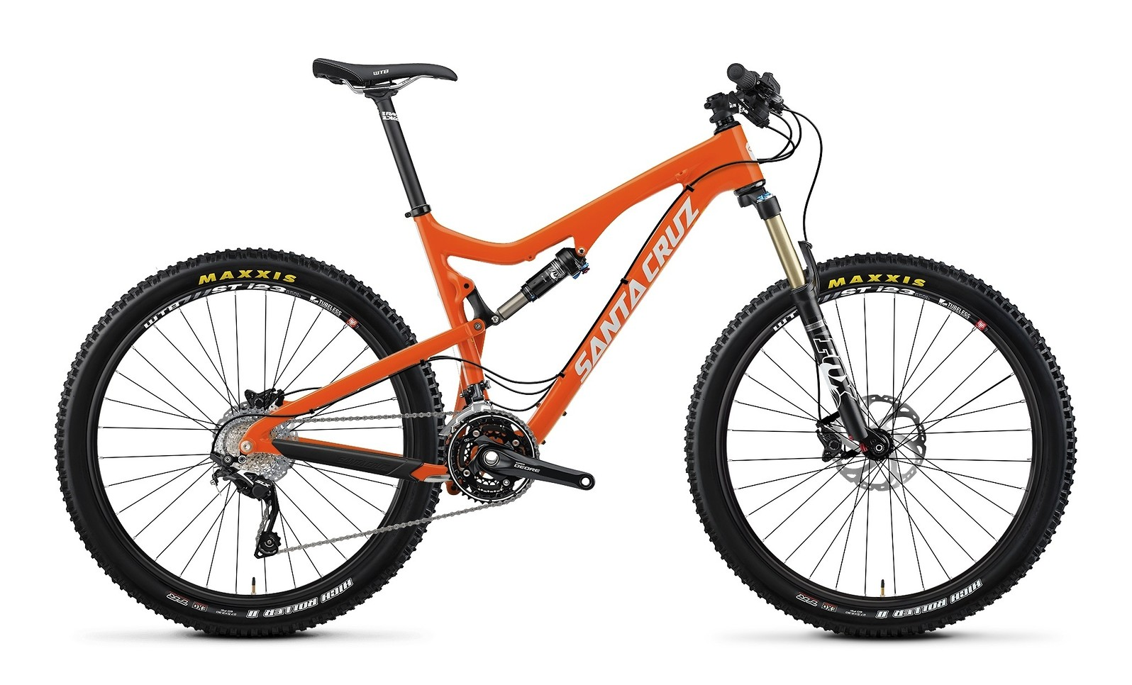 2014 Santa Cruz Solo Carbon R AM 27.5 Bike - orange