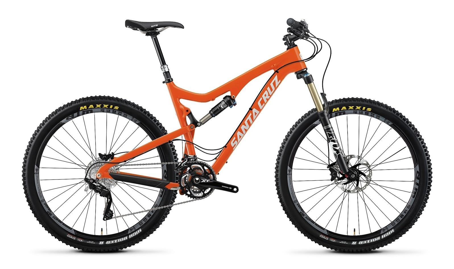 2014 Santa Cruz 5010 Carbon SPX AM 27.5 Bike 2014 Santa Cruz Solo Carbon SPX AM 27.5 Bike - orange