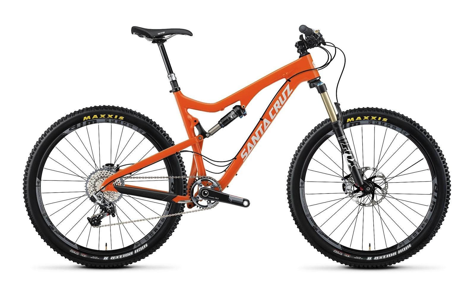 2014 Santa Cruz 5010 Carbon XX1 AM 27.5  2014 Santa Cruz 5010 Carbon XX1 AM 27.5 - orange