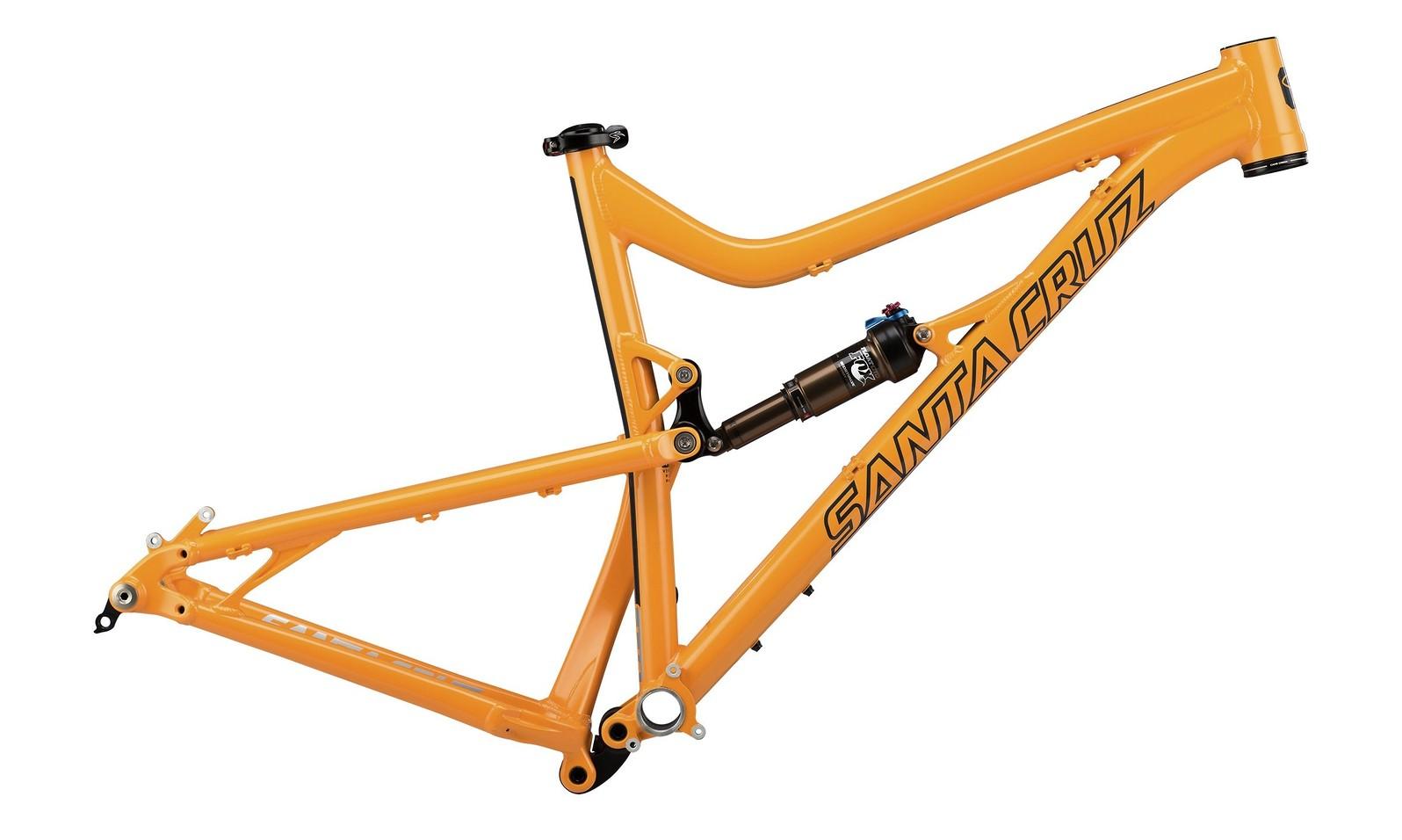 Santa Cruz Tallboy LT Aluminum Frame - Yellow & Gloss Black