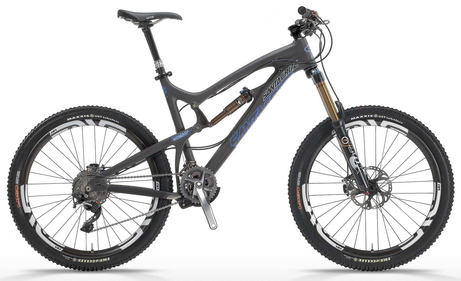 2014 Santa Cruz Nomad Carbon X0-1 AM Bike 2013 NOMAD Ccatalogflat