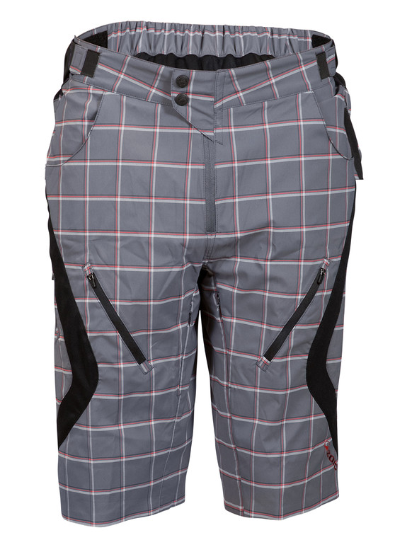 Zoic Antidote Plaid Shorts - Castle Square